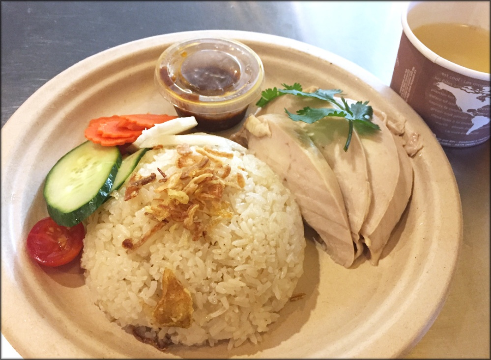 Freebird Khao Man Gai Plate