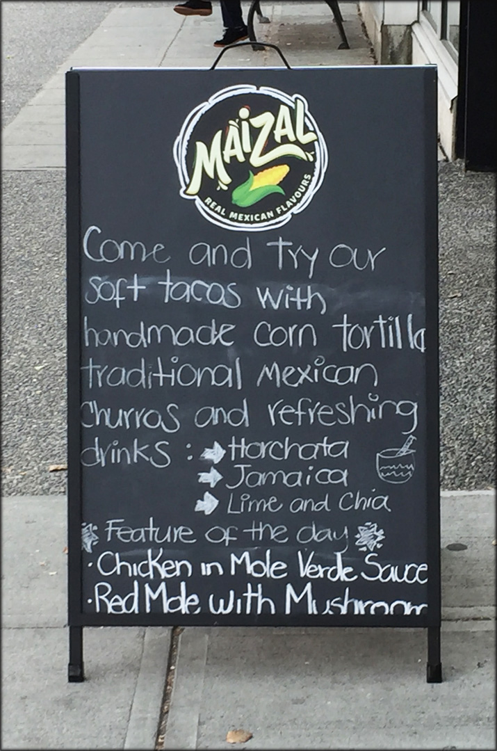 Maizal Sandwich board